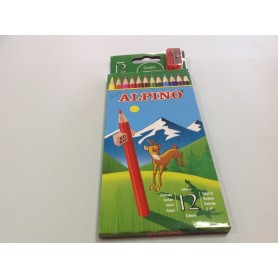 Lapices de Colores Alpino 12 Col