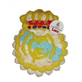 Tarta de Chuches del Real Madrid 33x26 cm