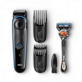 AFEITADORA RECORTADORA BRAUN BEARD TRIMMER BT3040 NEGRO