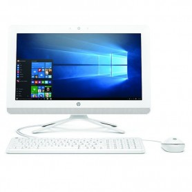 "PC ALL IN ONE HP 24-F0063NS - I3-8130U 2.2GHZ - 8GB - 512GB SSD - 23.8""/60.4CM FHD - TEC+RATON - NO ODD - W10 - BLANCO NIEVE"