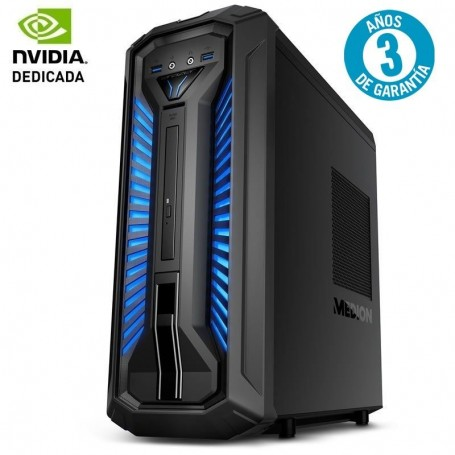 PC MEDION DT ERAZER X30 GAMING PCC895 - I5-9400 2.9GHZ - 8GB - 1TB+256GB SSD - GEFORCE GTX 1050TI 4GB - HDMI / 3* DISPLAYPORT